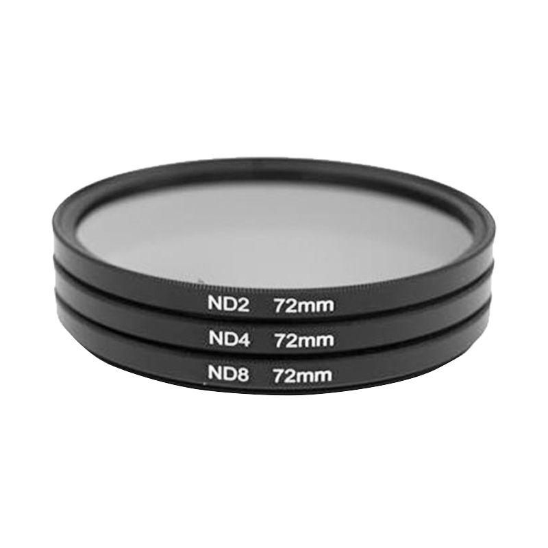 Third Party ND2 ND4 dan ND8 72mm Filter Lensa