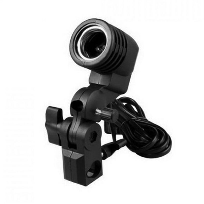 Third Party Portable Studio Single Lamp Holder Hitam Aksesoris Kamera