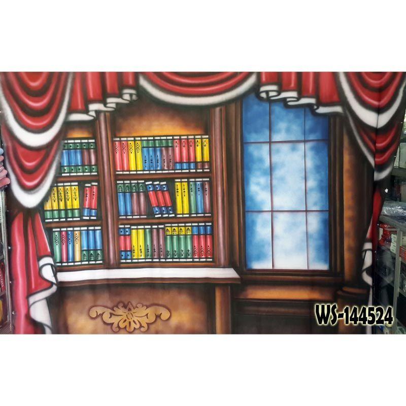Third Party Rak Buku Wisuda WS-144524 Background Foto