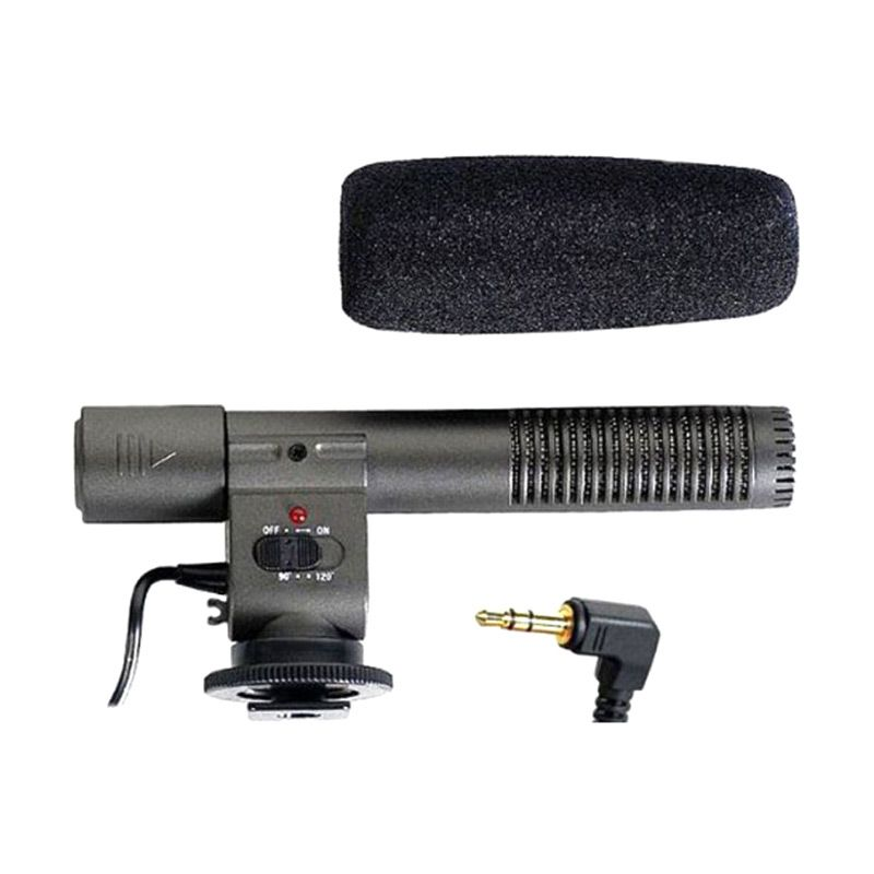 Third Party Shenggu HD Video Professional DSLR SG-108 Hitam Microphone for Camcorder