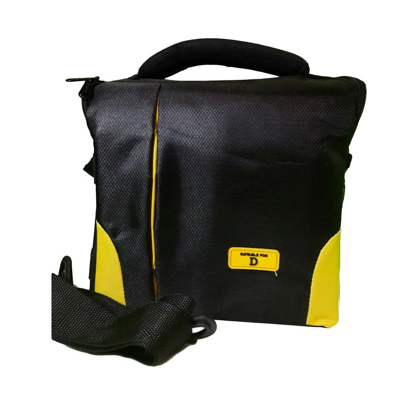 Third Party SLR 409 Hitam Kuning Tas Kamera