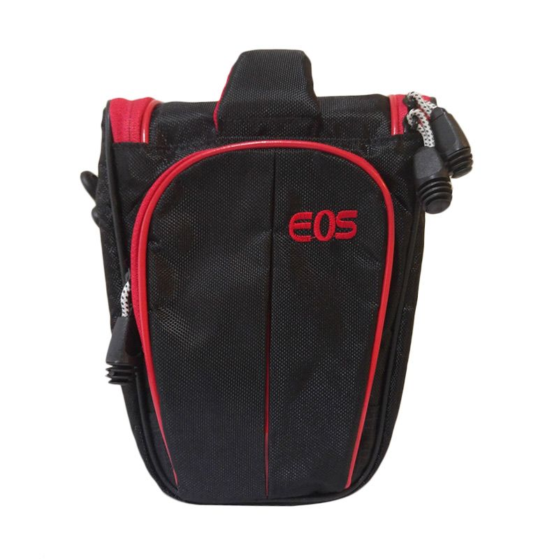 Third Party T312 Segitiga Red Black Tas Kamera