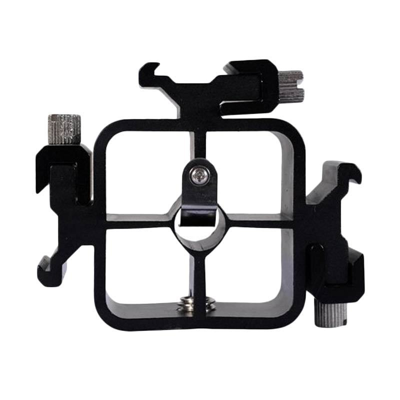 Third Party Triflash Bracket with 3 Flash Cold Shoe Mount