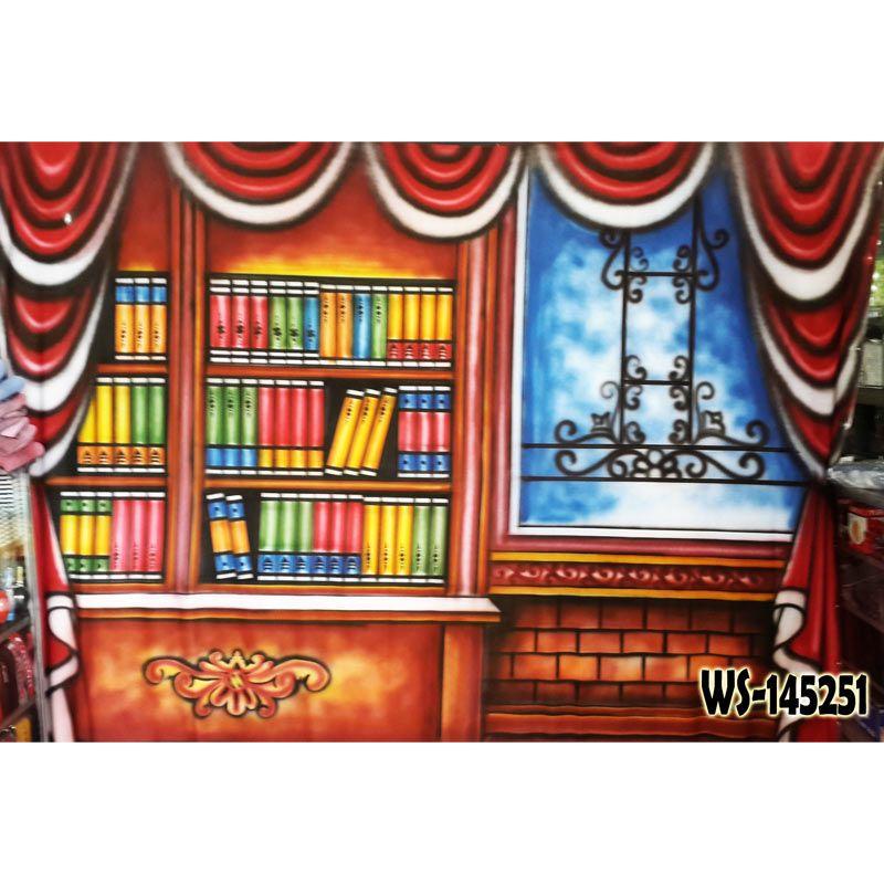 Third Party Wisuda Rak Buku WS-145251 Background Foto