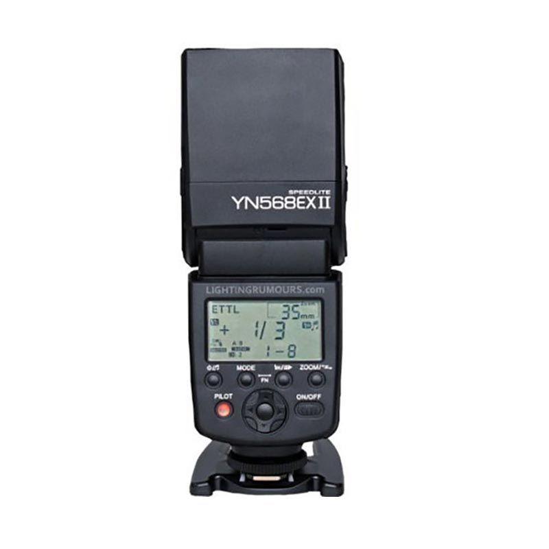 Yongnuo YN-568EX II TTL Master HSS 1/8000s Speedlite Flash Kamera for Canon