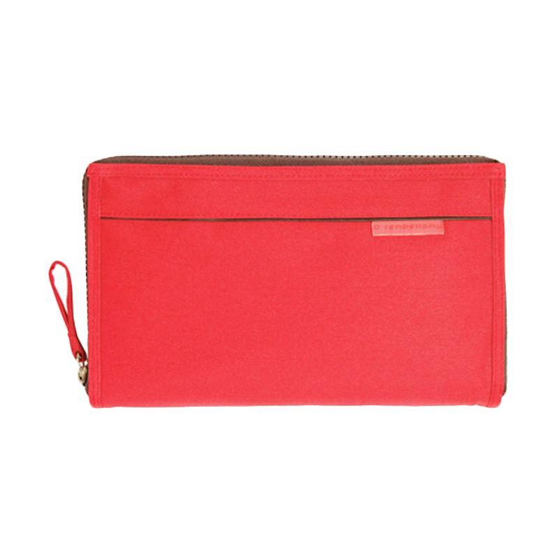 D'renbellony Handphone Pouch Organizer Maxi - Red | Dompet Wanita | Dompet HP