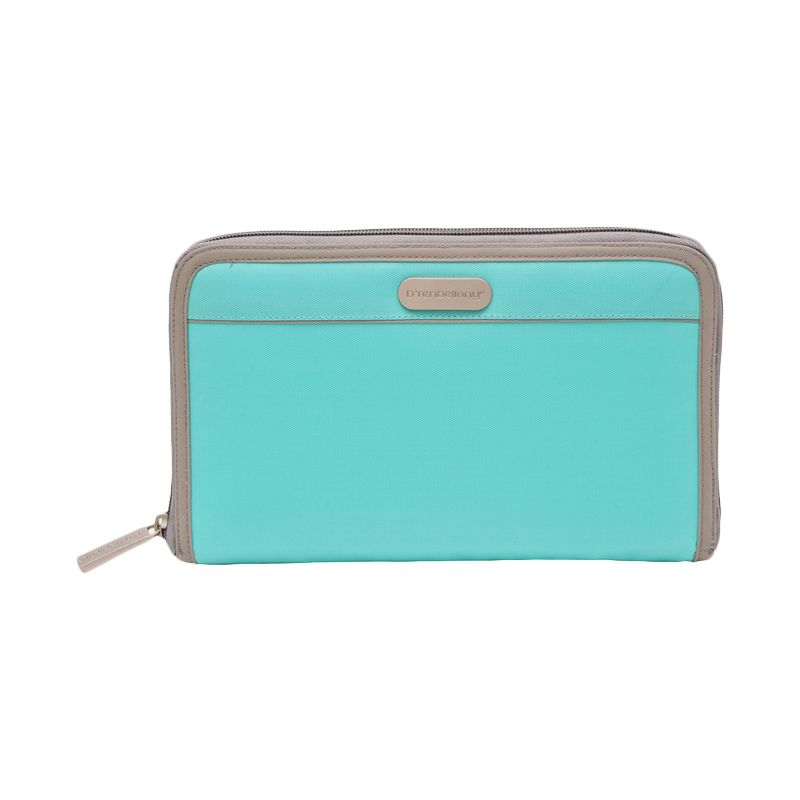 D'renbellony Smartphone Organizer - Turquoise Green | Dompet HP | Handphone Pouch