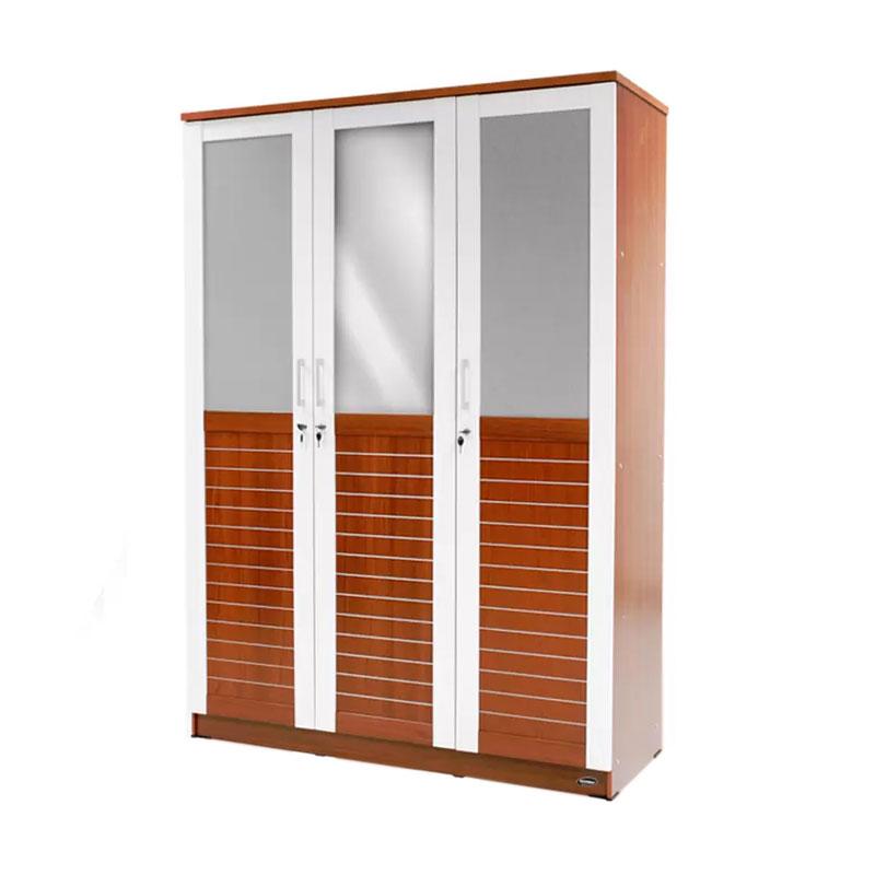 Best Furniture Alaska Lemari Pakaian 3 Pintu
