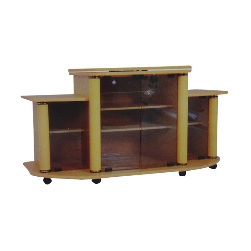 Best Furniture AVR 135 Rak TV Beech - Coklat