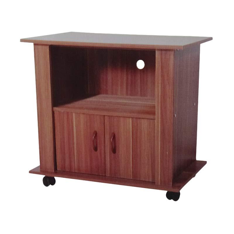 Best Furniture AVR 56 Rak TV Pintu Beech - Coklat