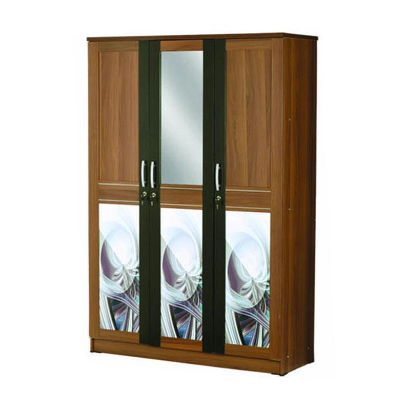 Best Furniture Eloika Lemari Pakaian [3 Pintu]