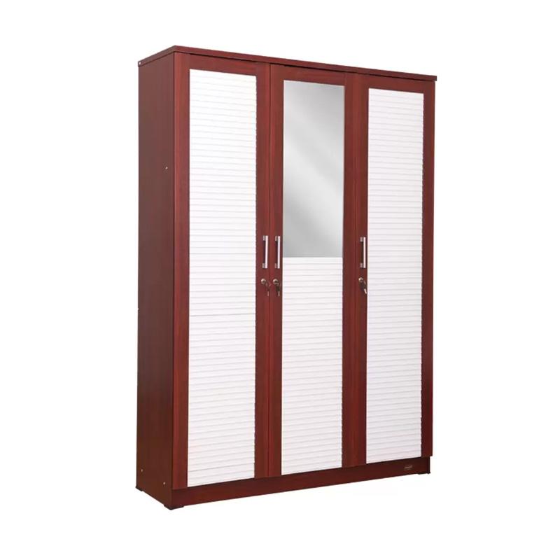 Best Furniture Jasmin Lemari Pakaian 3 Pintu