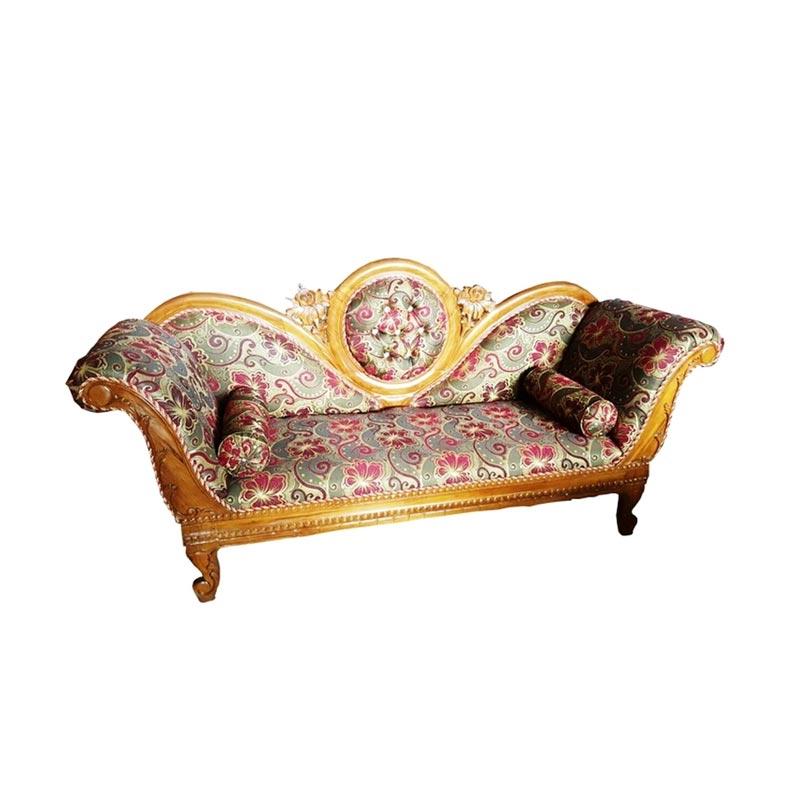 Best Furniture Klasik Jati Muria 04 Sofa [3 Dudukan]