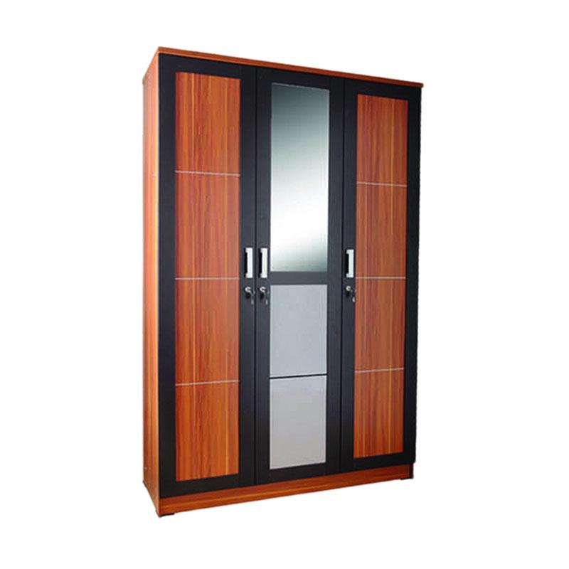 Best Furniture Rubik Lemari Pakaian 3 Pintu
