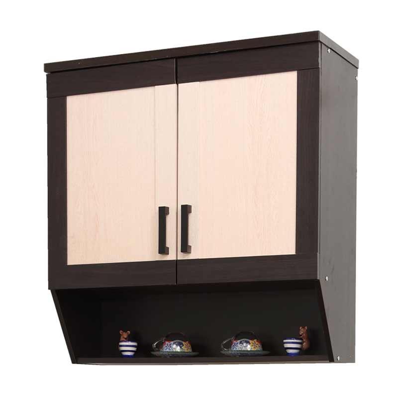Best Furniture Toppan Urbana Series Atas Kitchen Set  - Krem [2 Pintu]