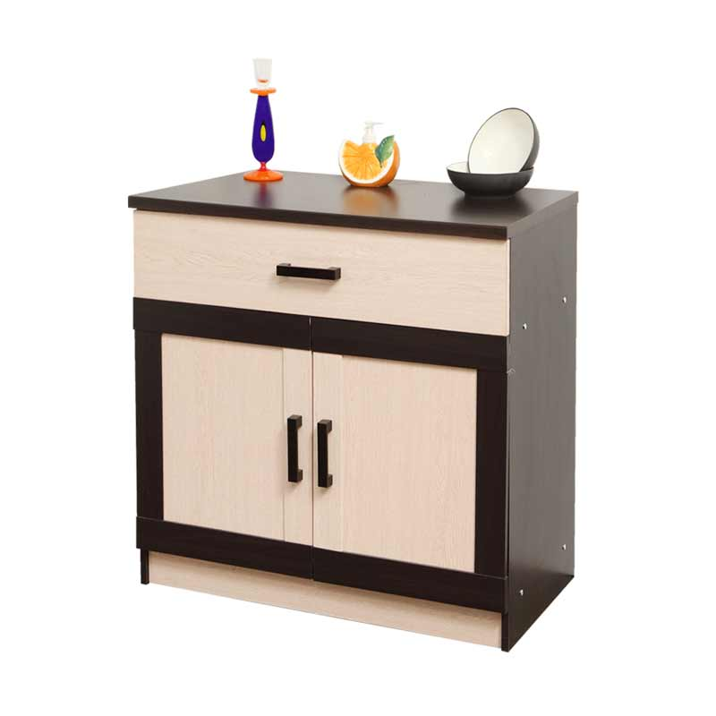 Best Furniture Toppan Urbana Series Bawah Kitchen Set - Krem [2 Pintu]