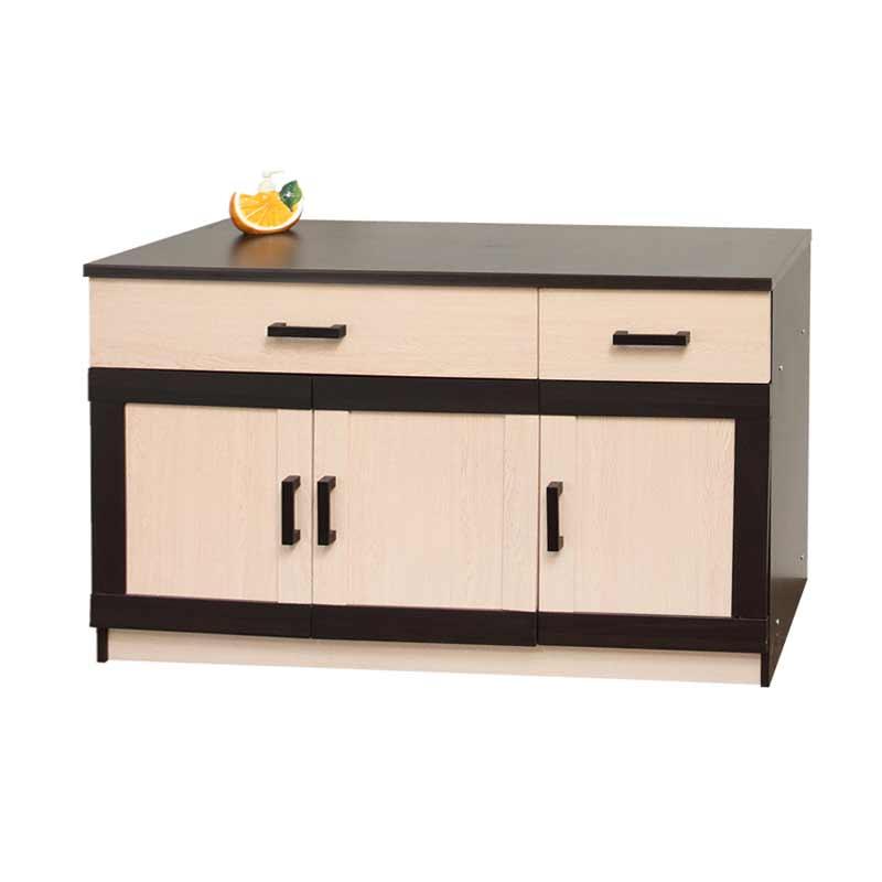 Best Furniture Toppan Urbana Series Bawah Kitchen Set - Krem [3 Pintu]