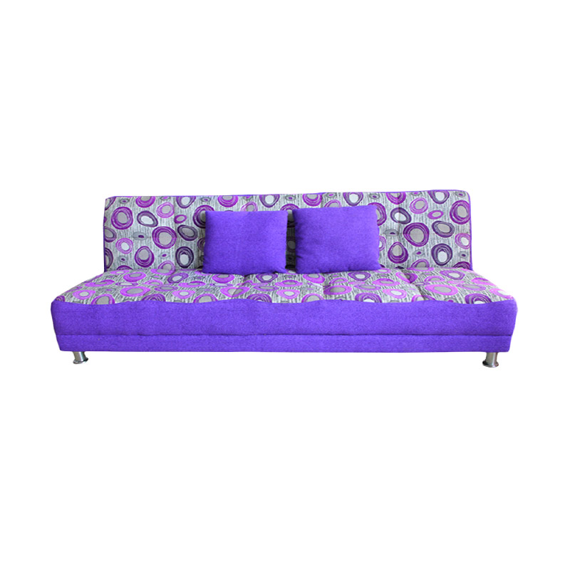 harga Best Furniture Wellington's 2in1 Vitus Bola Ungu Sofa Bed Blibli.com