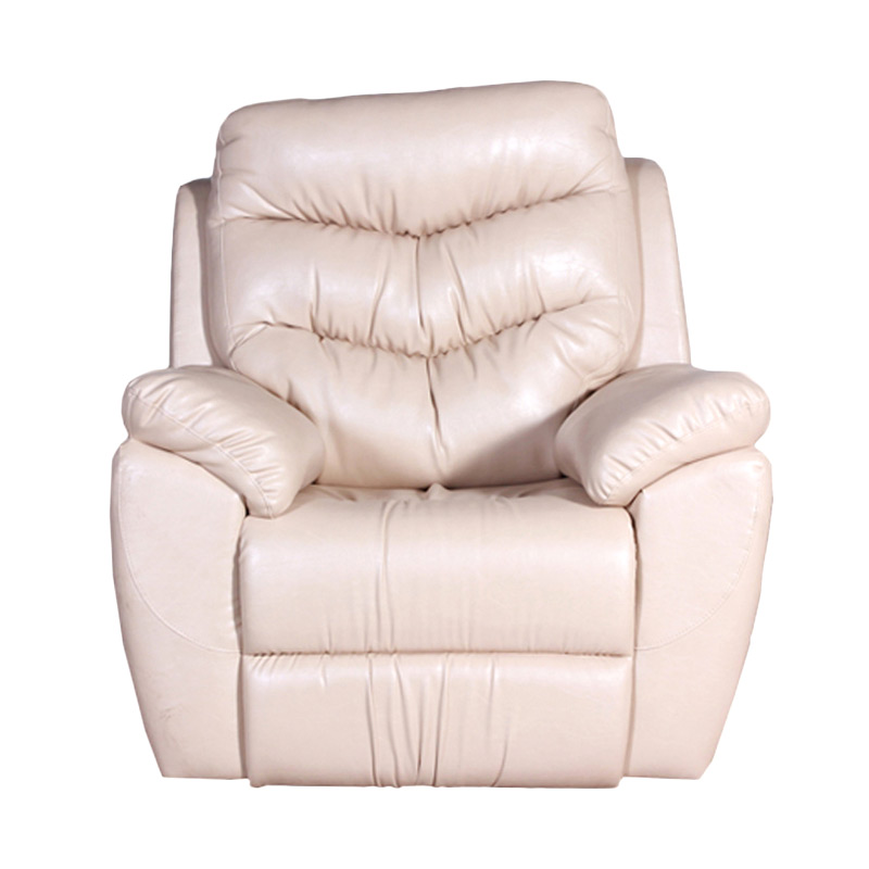 Best Furniture Wellington's 9904 Recliner 1 Dudukan Cream Sofa Santai