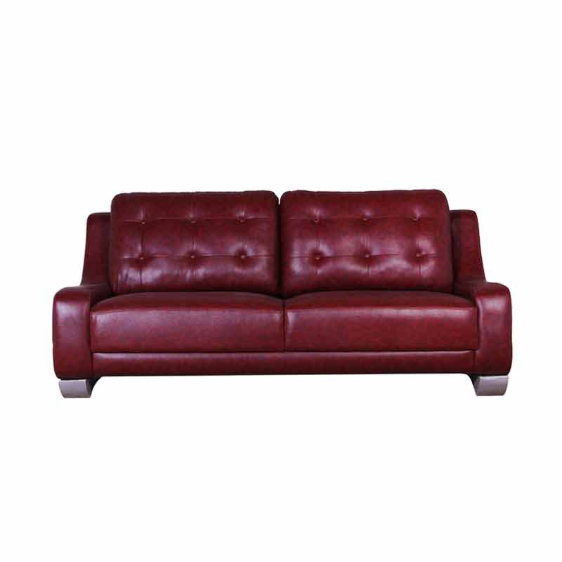 Best Furniture Wellington's Astone 321 Sofa Set - Virotek Maroon