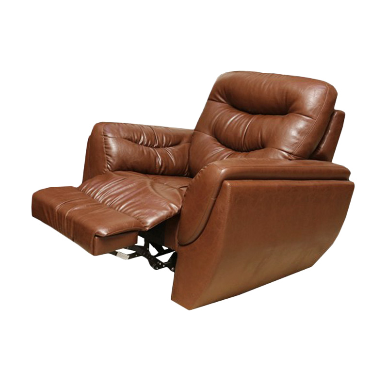 harga Best Furniture Wellington's Ebonia Recliner 1 Dudukan Brown Sofa Santai Blibli.com