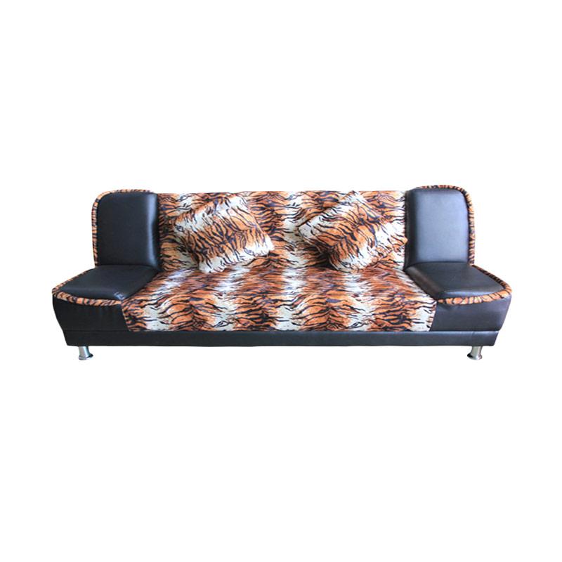 Best Furniture Wellington's Tiger Belang Brown Sofa Bed