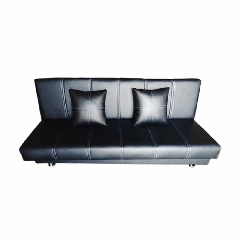 Wellington's Liney Sofa Ranjang - Hitam