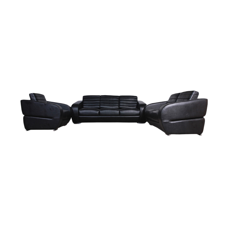 Wellington's Pearl 321 Virotek Black Set Sofa
