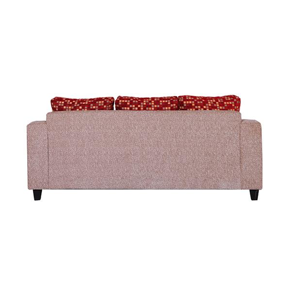 Jual Wellington's Sofa Minimalis 321 Merah Bantal Kotak - Kotak Online - Harga & Kualitas Terjamin | Blibli.com