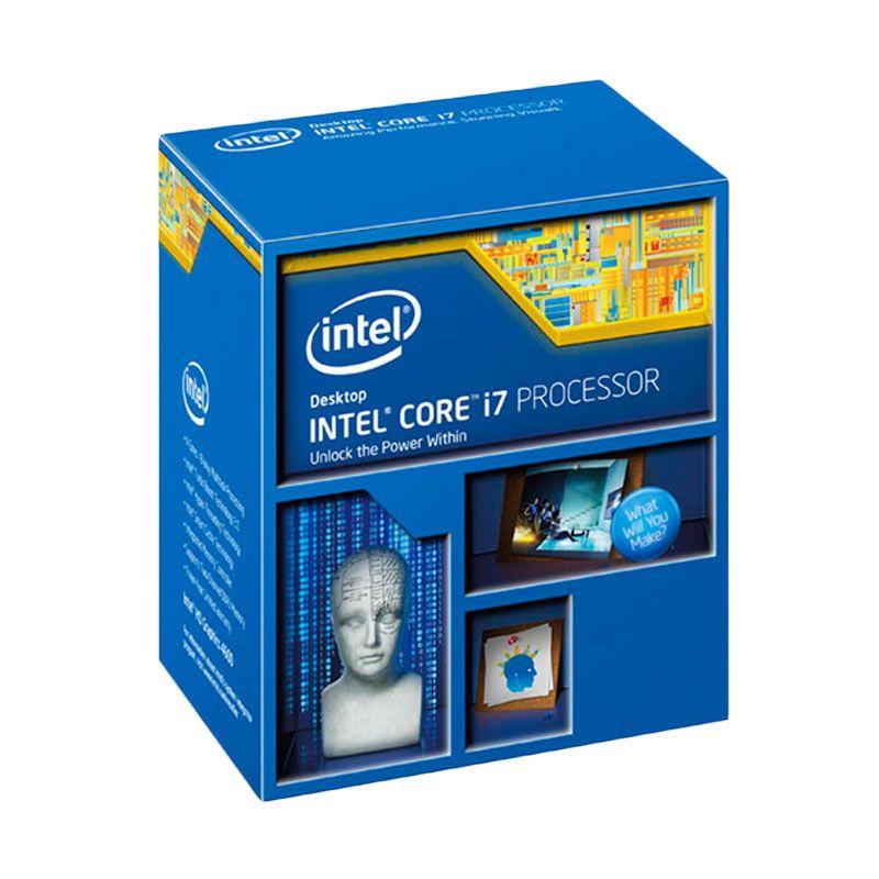 Intel Core I7-4960X Processor BX80633I74960X Aksesories Komputer [3.6 Ghz Quad Core/Cache 15 MB/Socket LGA2011/Garansi 3 Tahun]