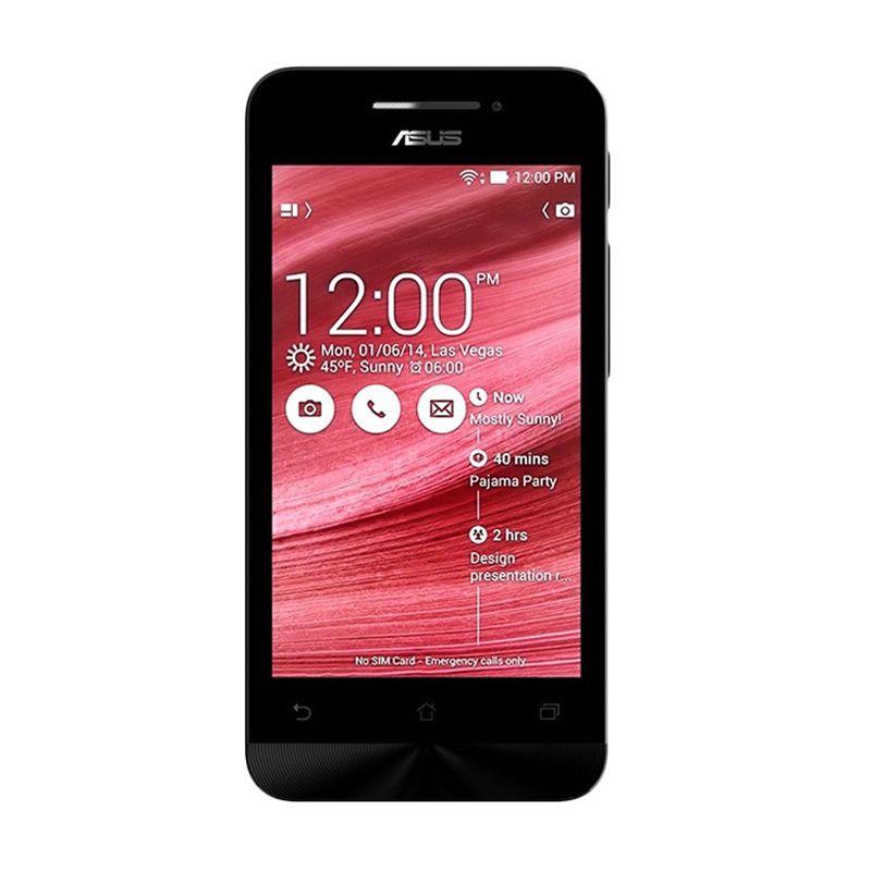 Asus Zenfone 4C ZC451CG Merah Smartphone [8 GB/4.5 inch/Garansi Resmi]