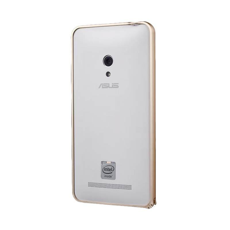 Best Aluminium Metal Bumper Gold Casing for Zenfone 5