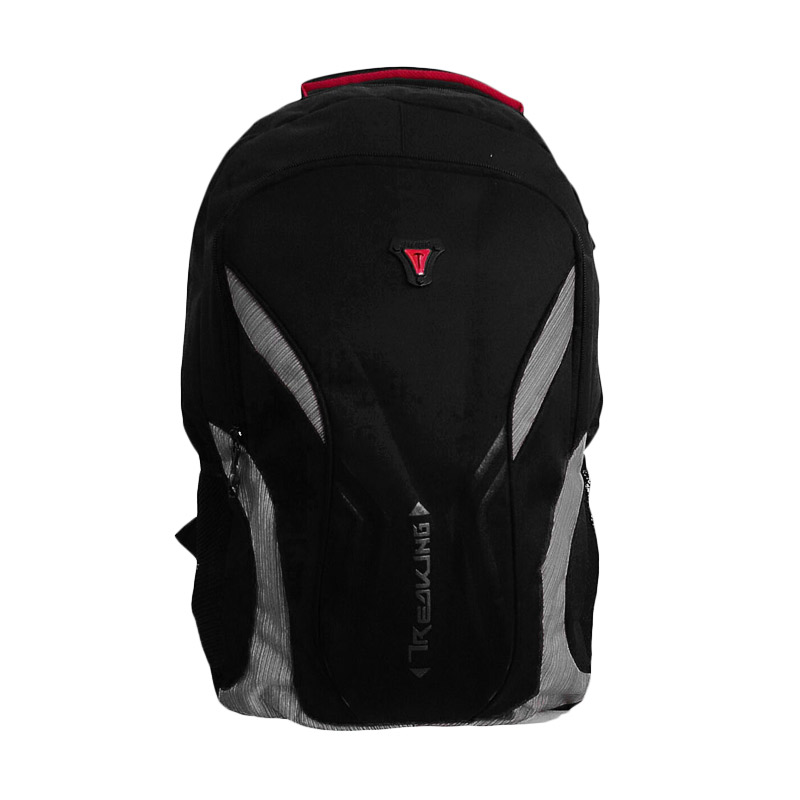 Best Treaking Backpack Tas Laptop - Abu Abu
