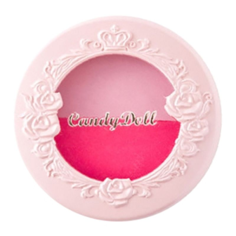 CandyDoll Cheek Color Duo (Peach Pink & Rose Pink) 7gr