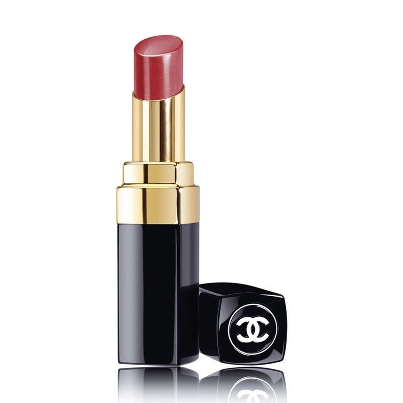 Chanel Rouge Coco Shine Hydrating Colour Lipshine 84 Dialogue Lipstik [3 g]