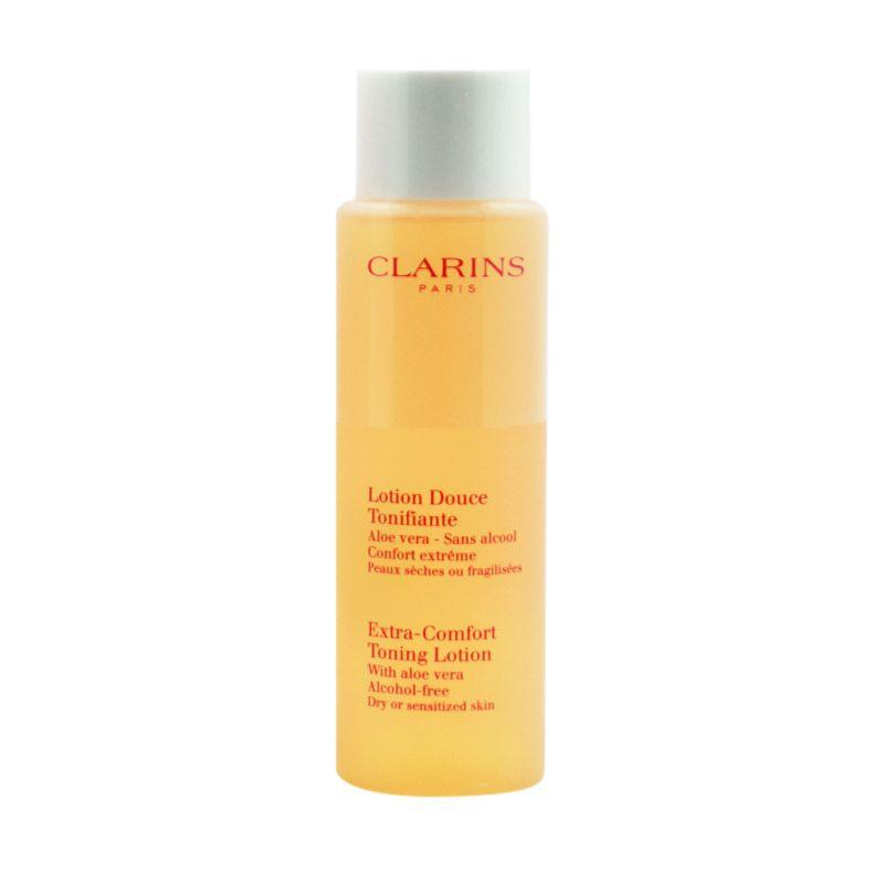 Clarins Extra Comfort Toning Lotion Pembersih Wajah [200 mL]