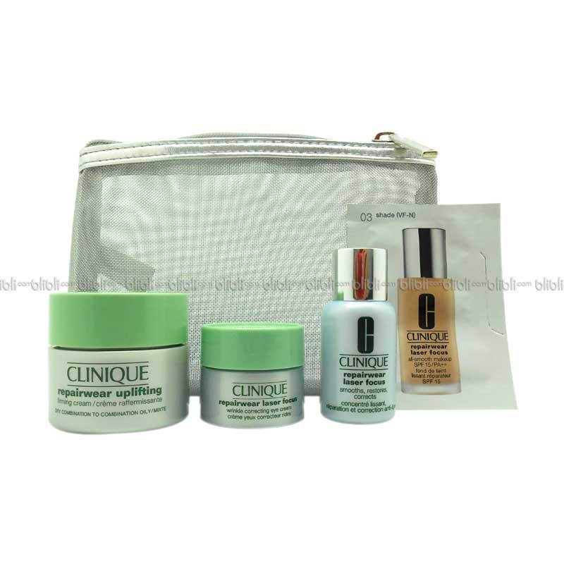 Clinique Try-On Package De-Aging Solution (Anti Penuaan Dini) 1 Set