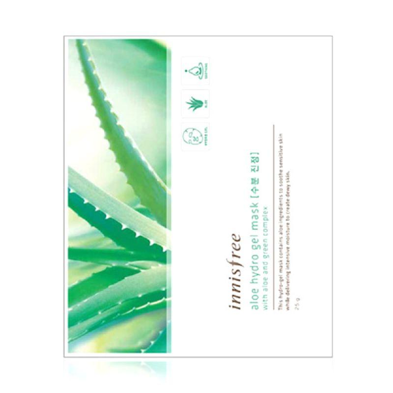 Innisfree Aloe Hydro Gel Mask Masker Wajah [25 g]