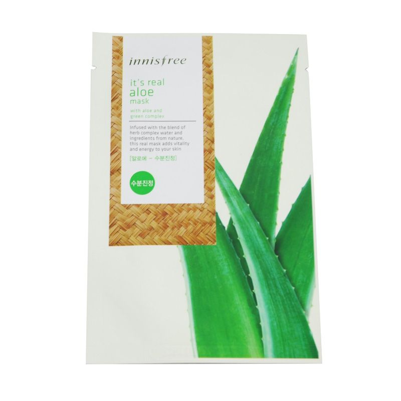 Innisfree It's Real Aloe Mask Masker Wajah