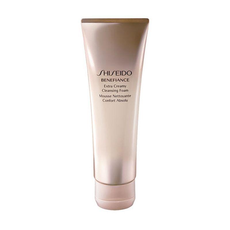 SHISEIDO Benefiance Extra Creamy Cleansing Foam Pembersih Wajah [125 mL]