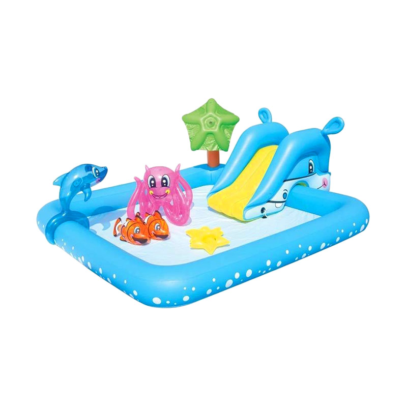 Best Deal 11 - Bestway Kolam Fantastic Aquarium Play Pool Kolam Bermain Anak