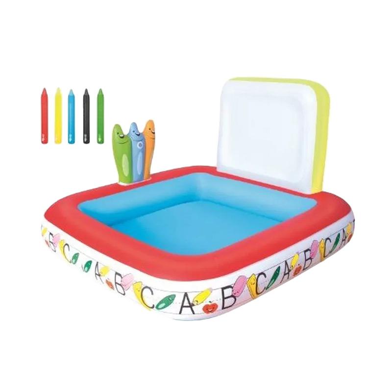 Bestway Learn and Draw School Pool Kolam Renang Anak