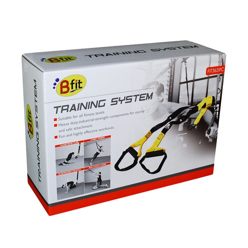 BFIT Training System 3659C Orange Alat Fitness & Training [10 Pcs]