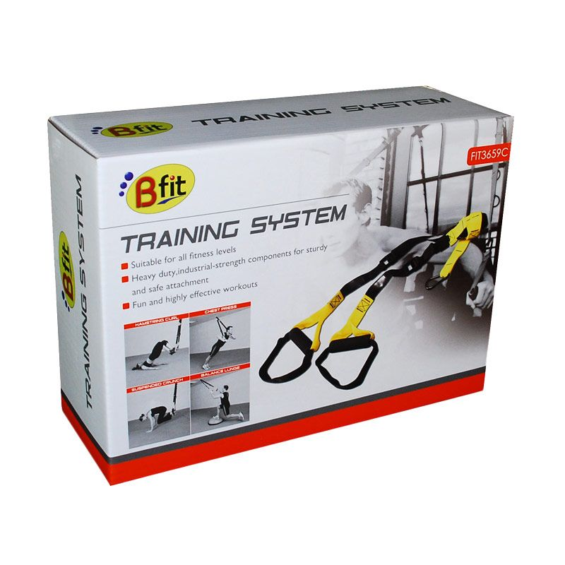 BFIT Training System 3659C Orange Alat Fitness & Training [5 Pcs]
