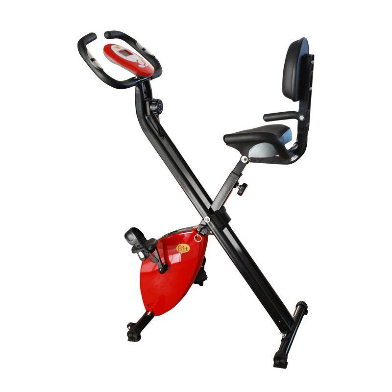 BFIT X-Bike 917 Multi Exercise Bike Merah Alat Fitness dan Training