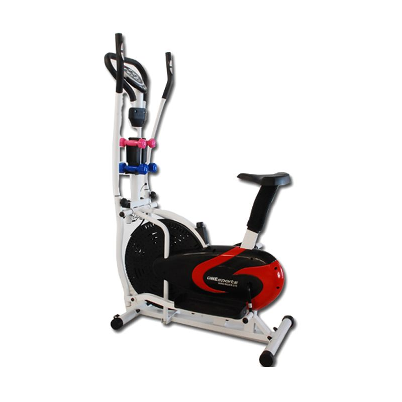 OneSports Elliptical Bike Wind Rider 270 Hitam Alat Fitness dan Training