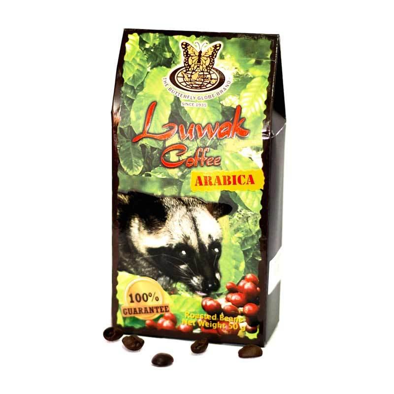Kupu Kupu Bola Dunia - Arabica Luwak Coffee Beans 50 gr