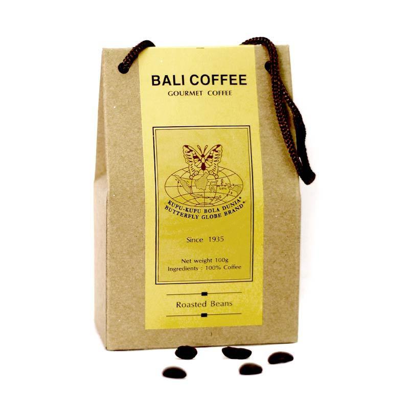 Kupu Kupu Bola Dunia - Bali Coffee Beans (Tas 100 gr)