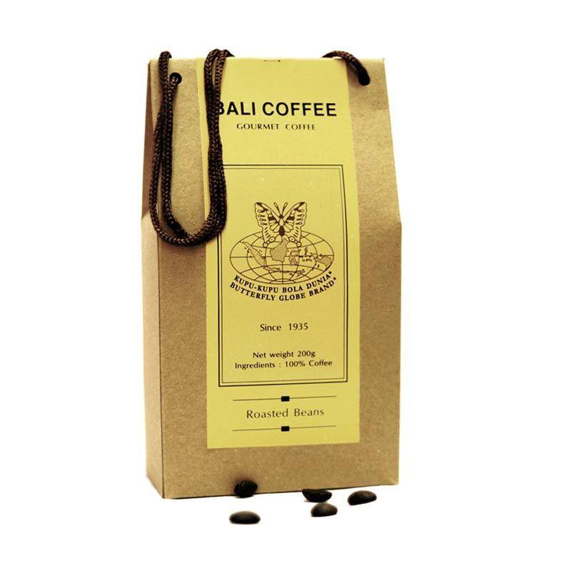 Kupu Kupu Bola Dunia - Bali Coffee Beans (Tas 200 gr)