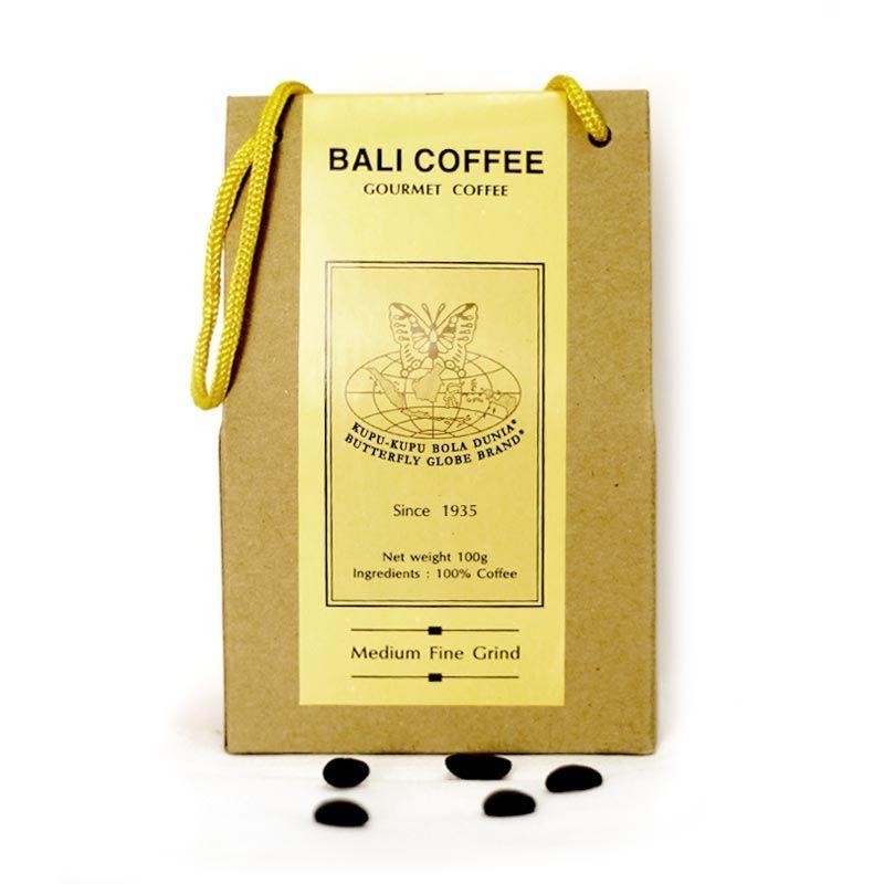 Kupu Kupu Bola Dunia - Bali Coffee Kristal (Tas 100 gr)